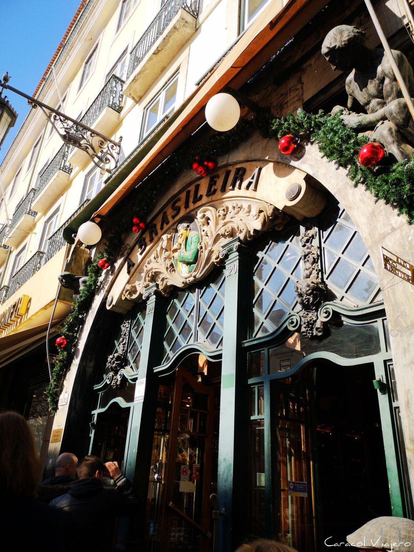 cafetería célebre en Lisboa