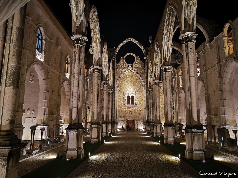 Iglesia do Carmo en Lisboa