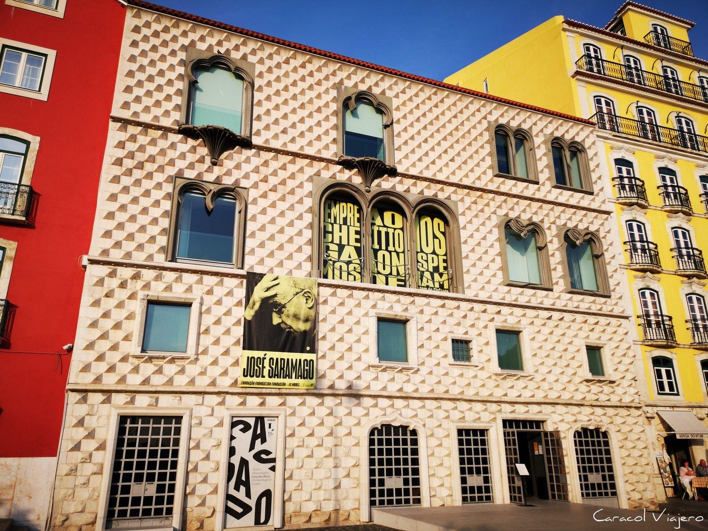 Lisboa y Saramago edificio