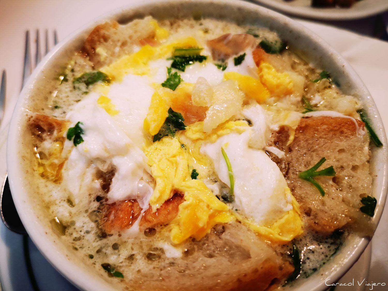 Sopa portuguesa tradicional