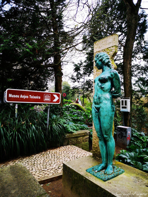 Sintra, estatua