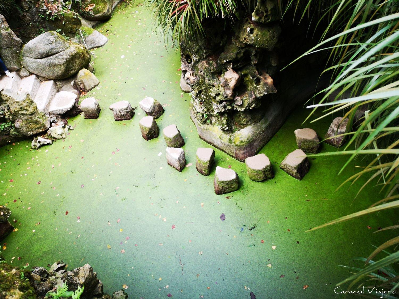 Quinta da Regaleira camino piedra