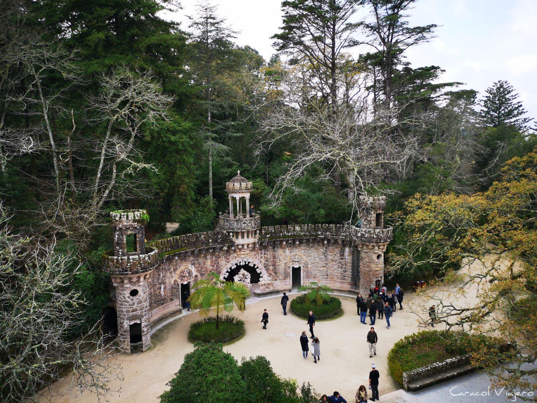 Guardiães Quinta da Regaleira exteriores