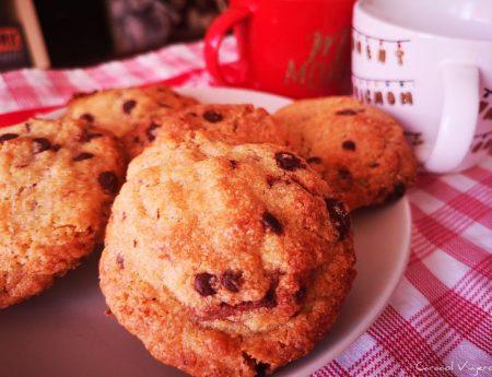 ¿Cómo hacer cookies de chocolate americanas?