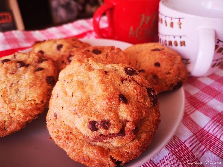 cookies de chocolate americanas