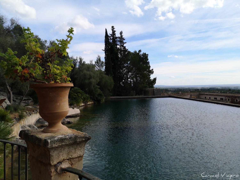 Gran estanque en Muerte bajo el sol