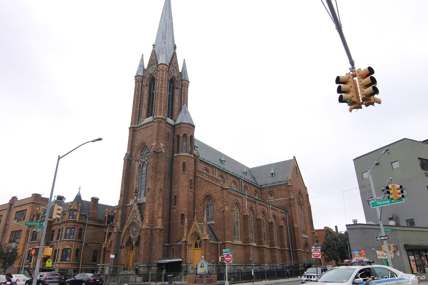 Brooklyn iglesia católica en NYC
