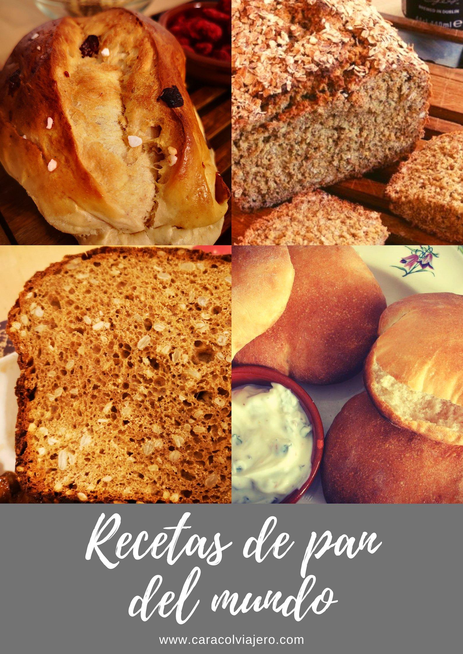 Pan del mundo - Recetas
