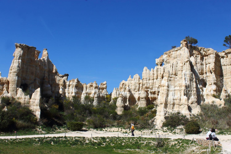 Orgues d'Ille-sur-Têt formaciones arenisca