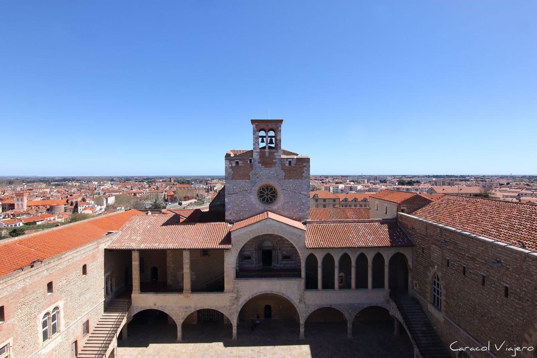 Qué ver en Perpignan: Torre-homenaje-perpignan