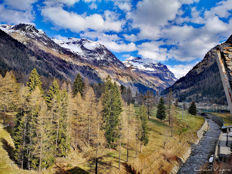 ruta por el valle de Aosta Alpes italianos