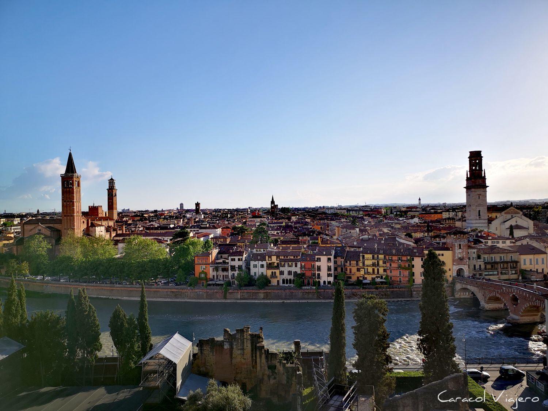 Adigio río en Verona