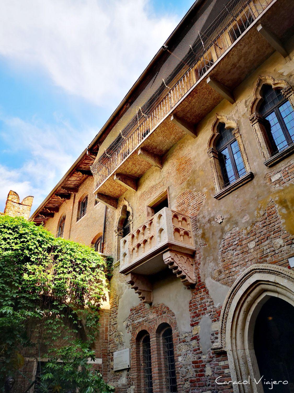 Balcón de Julieta en Verona - cosas que ver en Verona