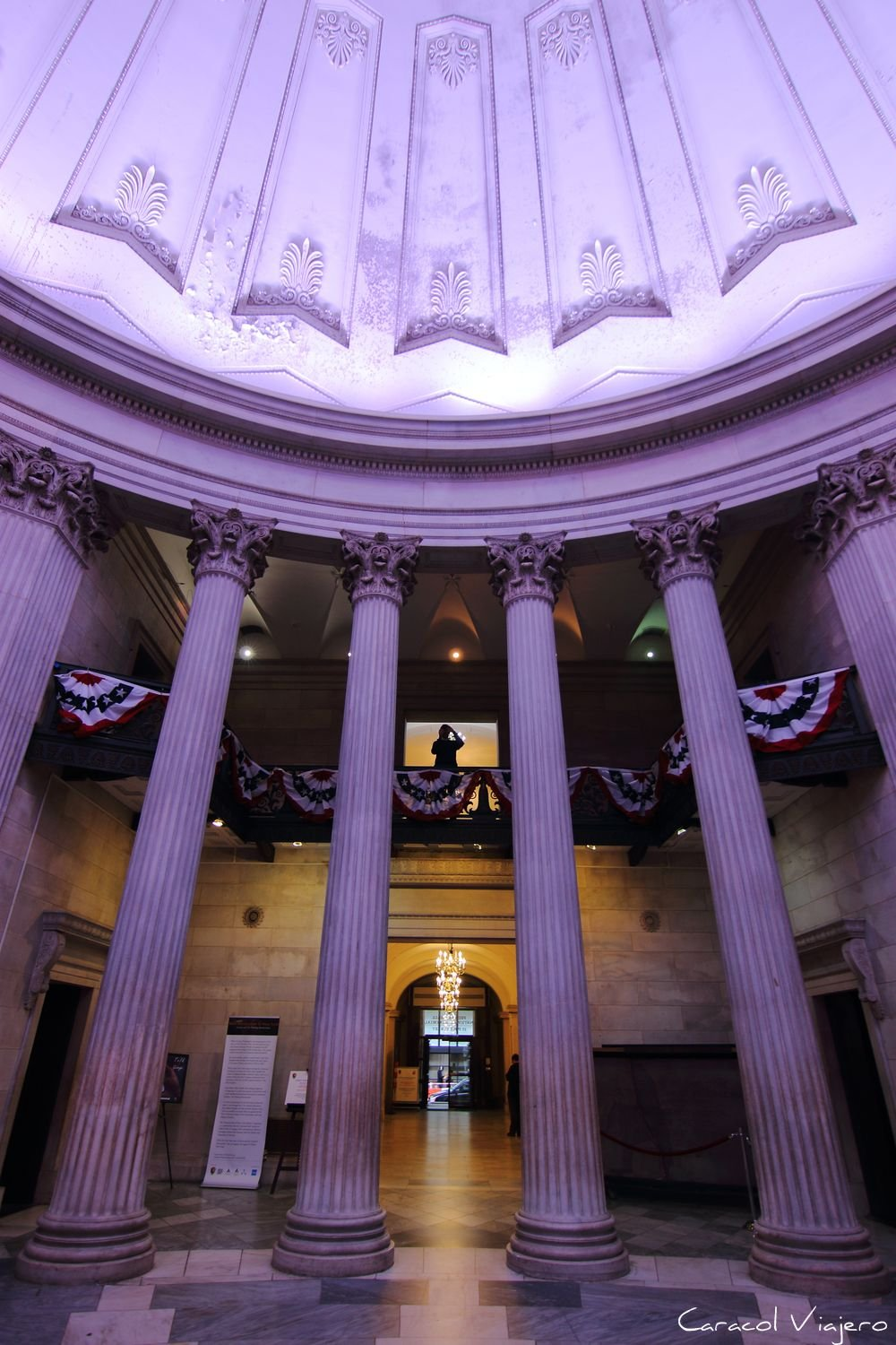 Interior del Federal Hall NYC