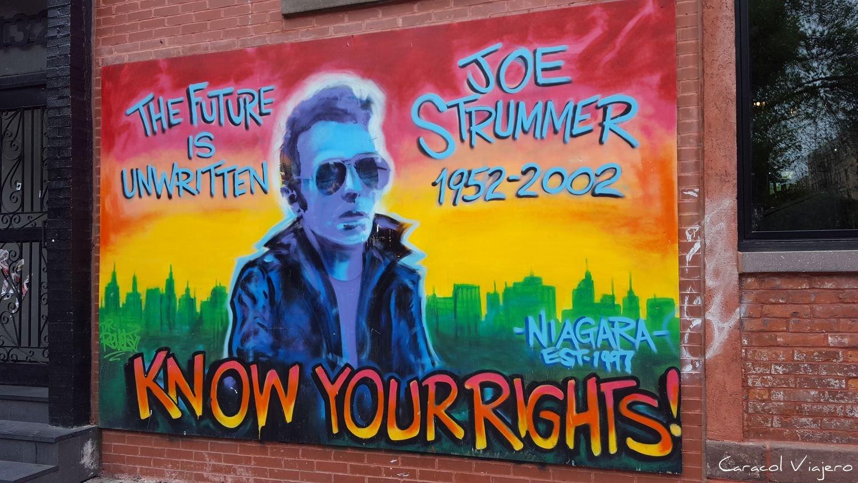 East Village Nueva York mural