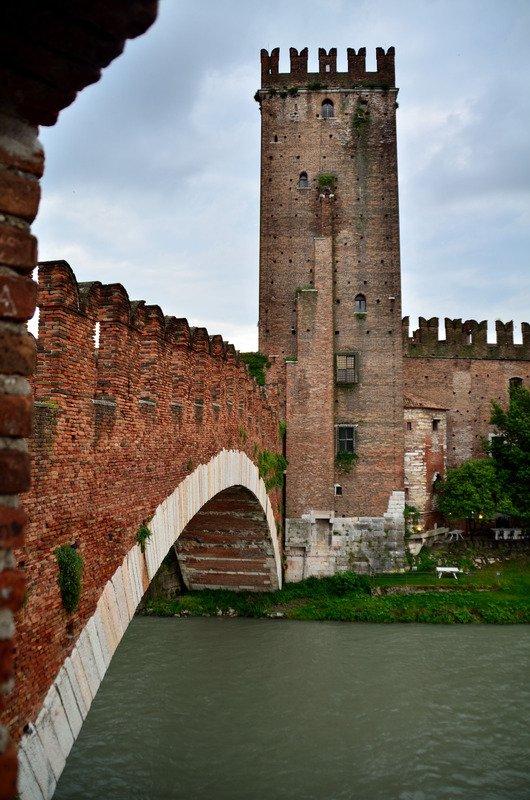 Puente y castillo de Castelvecchio