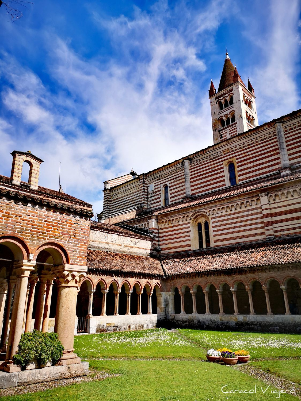San Zeno - claustro de Verona