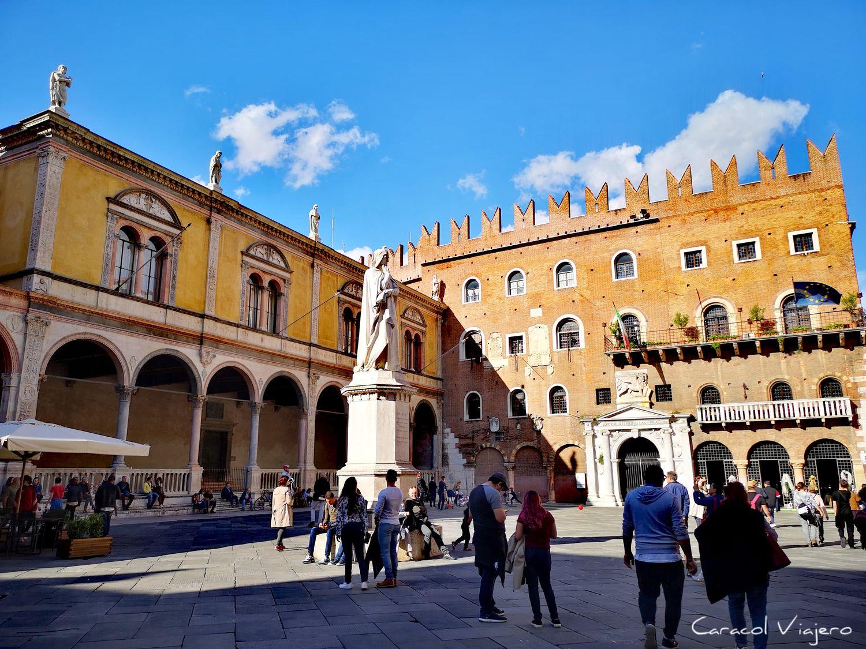 Plaza de los señores, qué ver en Verona en un día