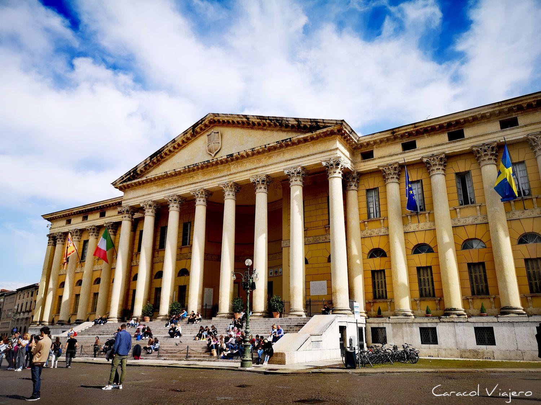 Palacio Barbieri en Verona - cosas que ver en Verona