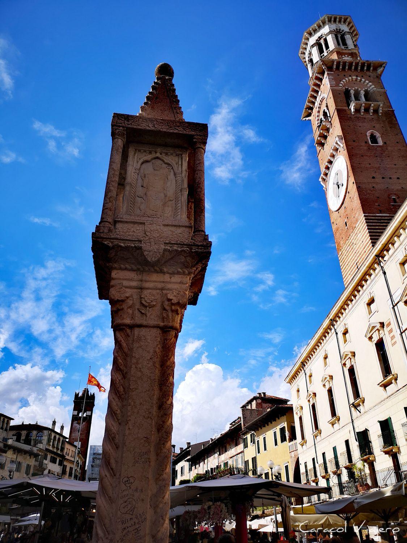 Plaza dell herbe Verona