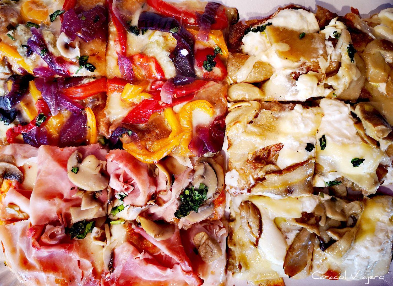 Pizza en Verona