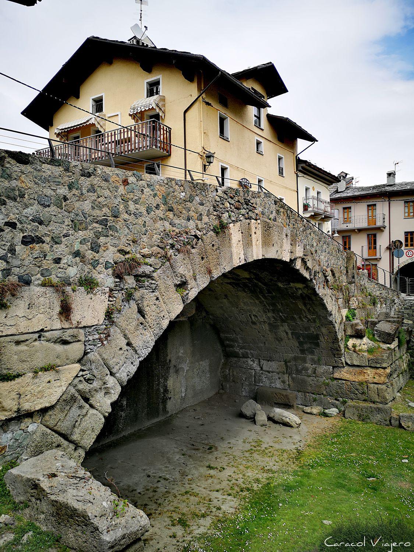 puente romano de Aosta