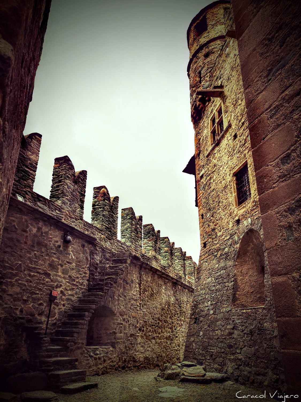 Castillo de Fénis - castillos valle de Aosta