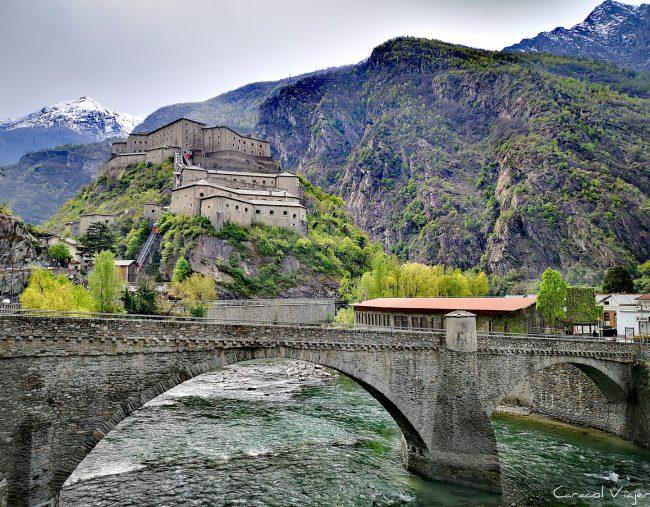 El fuerte de Bard y los castillos del valle de Aosta