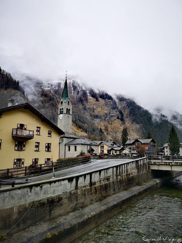 Gressoney pueblo con encanto en los alpes