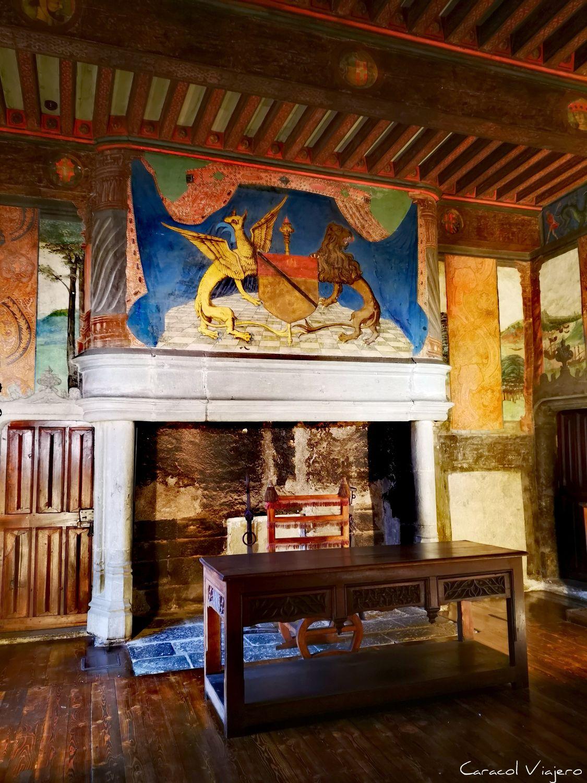 Challant Issogne - castillos valle de Aosta