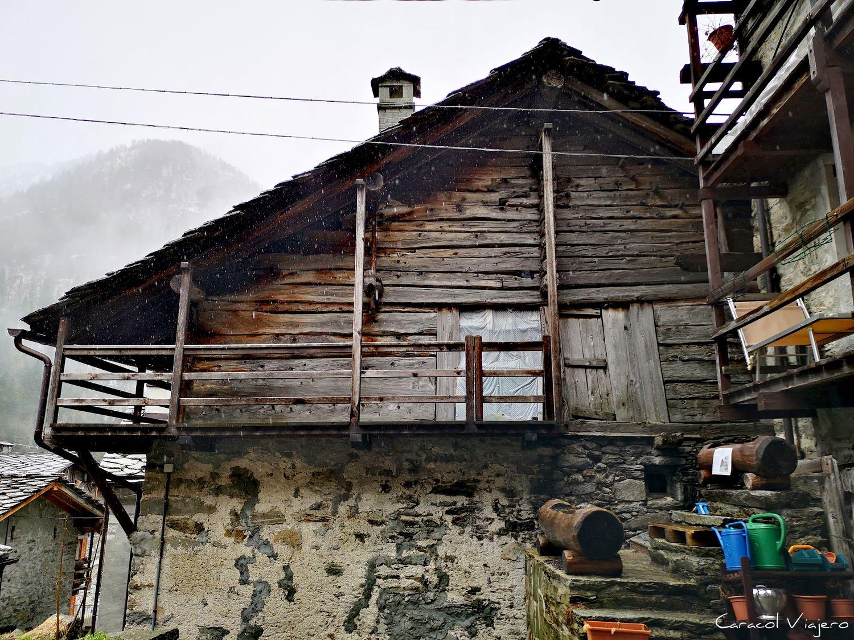 Walser casa Alpes italianos