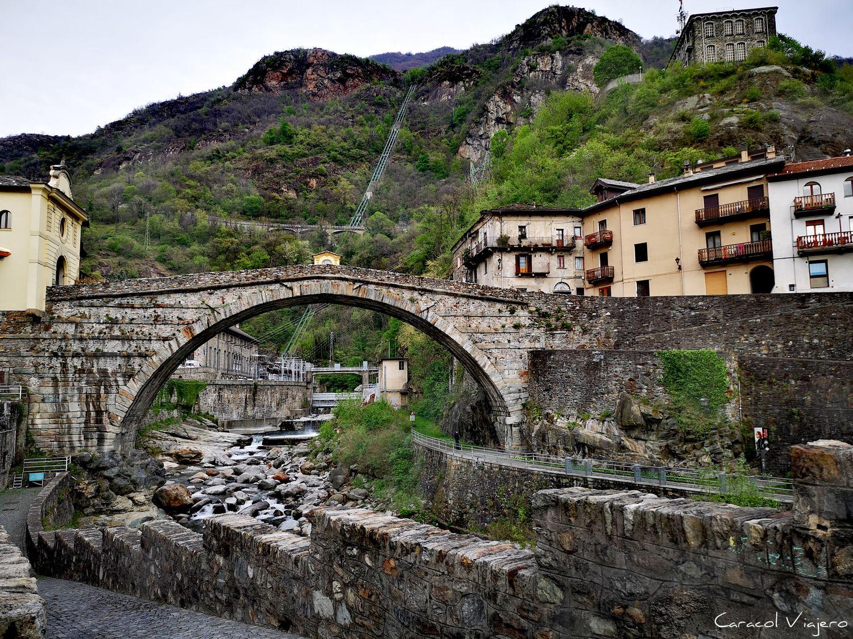 Puente romano Valle de Aosta