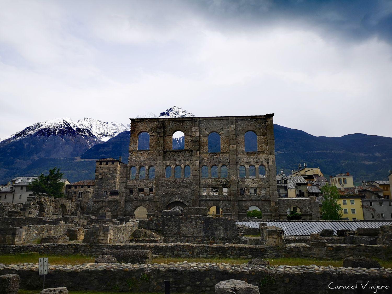Teatro romano de Aosta
