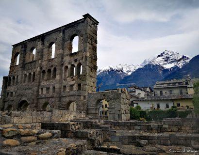 ¿Qué ver en Aosta en un día? 10imprescindibles