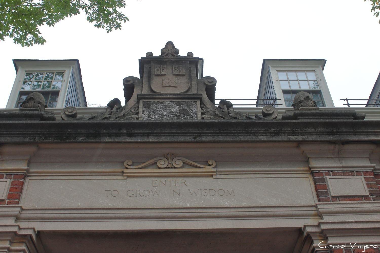 Harvard inscripción