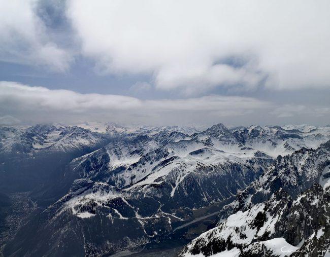 El teleférico del Mont Blanc: Skyway