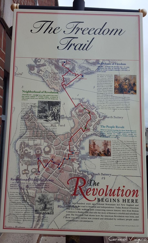 Qué ver en Boston: el Camino de la libertad