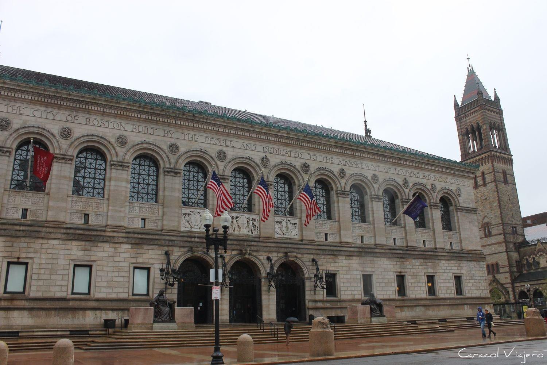 Boston exterior biblioteca