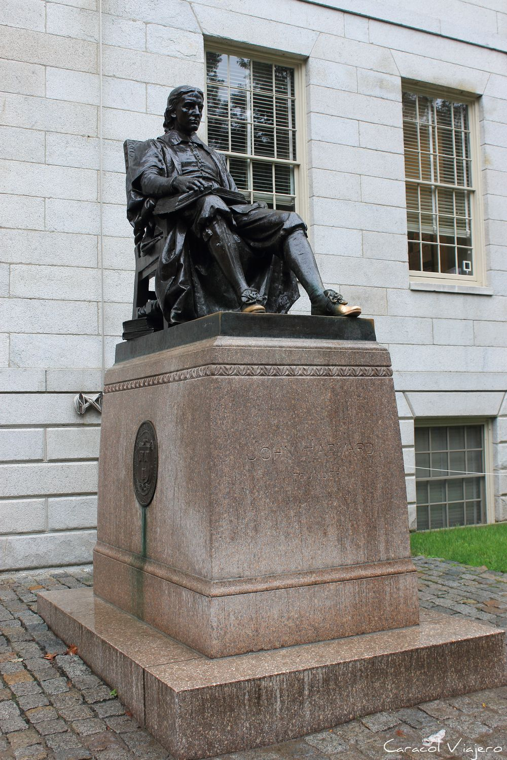 John Harvard en Cambridge