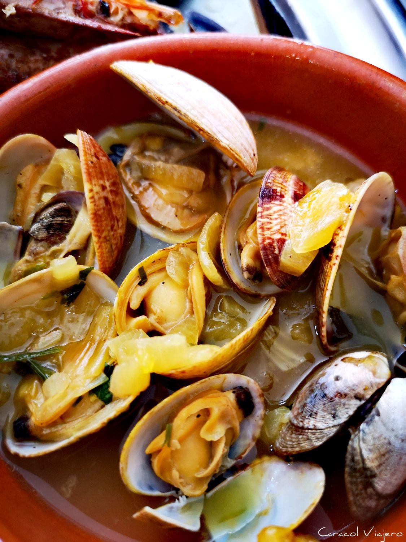 Almejas en Vigo