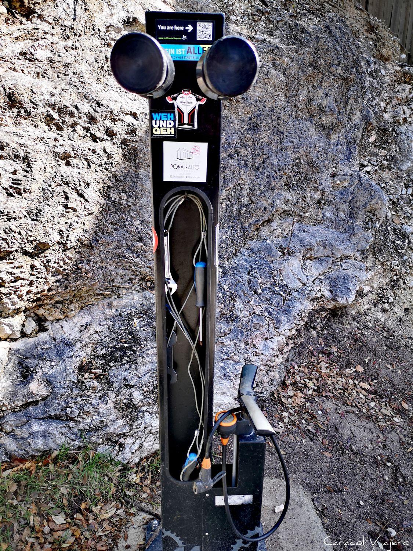 Inflador y herramientas bici La Ponale