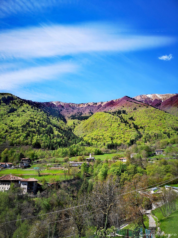 Colores y vistas en Malga Grassi