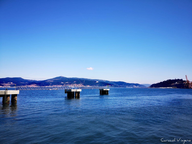 dique en Vigo