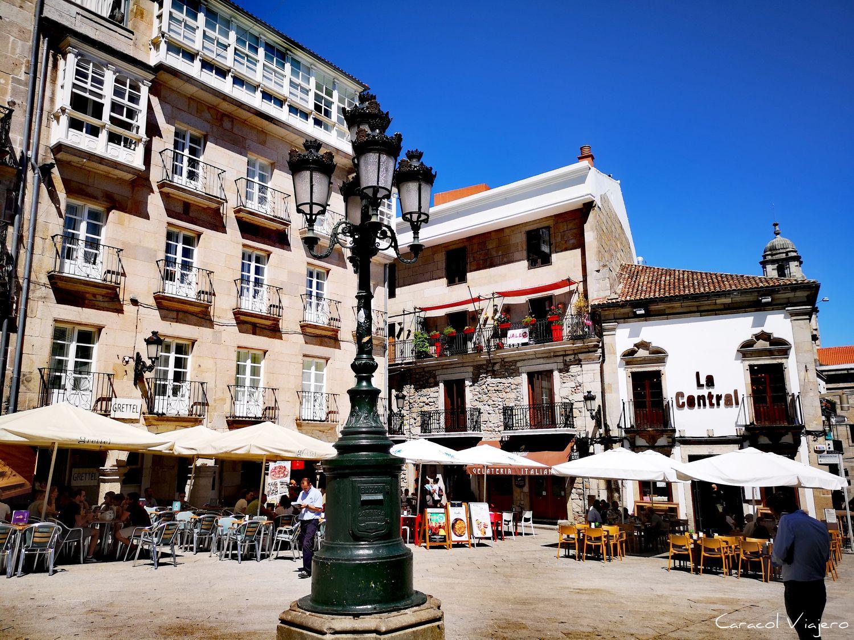 Plaza de la contitución de Vigo