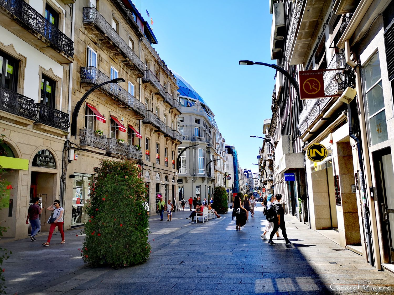 Rúa do Príncipe - calle comercial