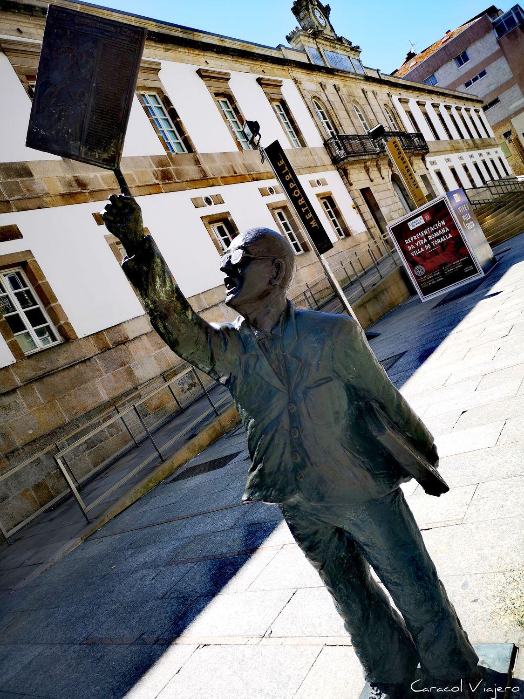 Vigo estatua
