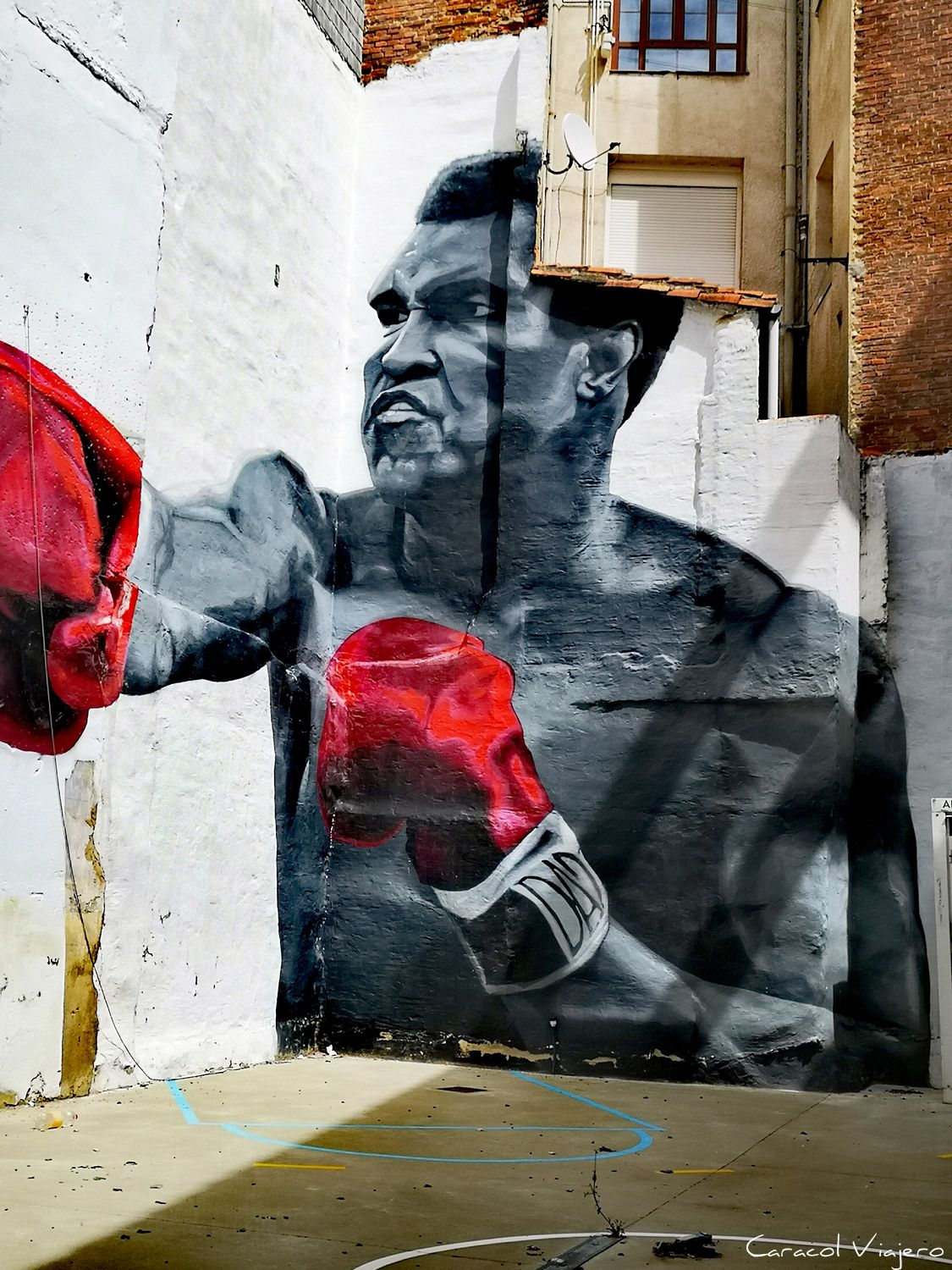 Mohamed Ali Street Art
