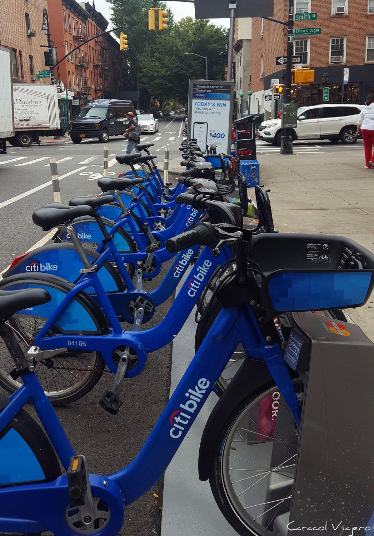 Las bicis de Nueva York