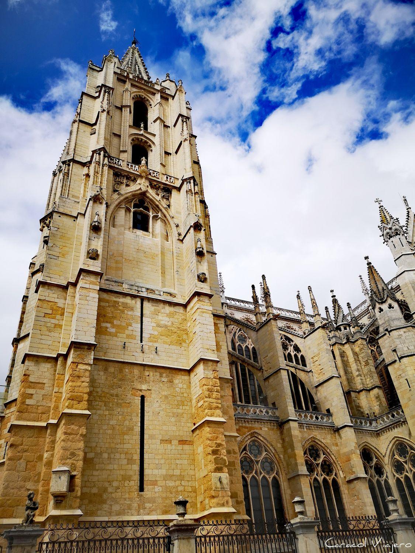 Exterior catedral León