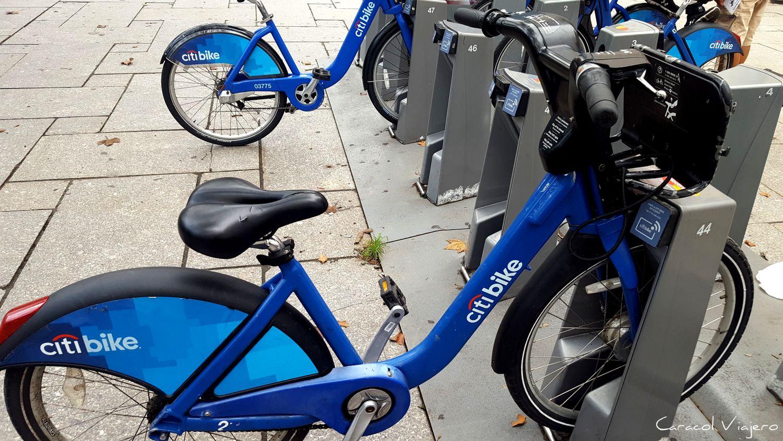 cómo funcionan las bicis de Nueva York